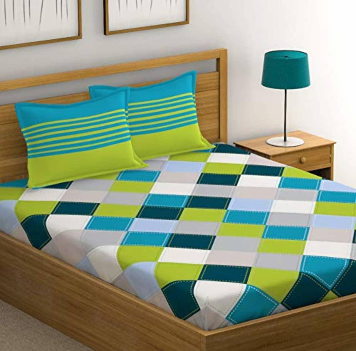 pure cotton double bedsheet